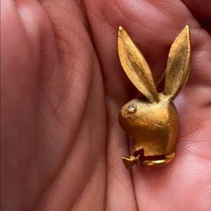 Jewelry - Vintage Playboy Bunny Brooch